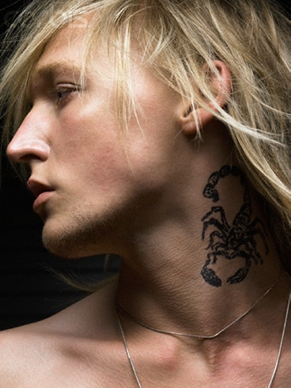Neck Tattoo Designs and ideas67
