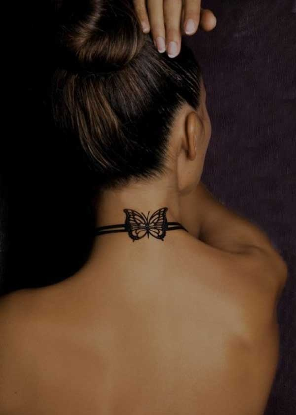 Neck Tattoo Designs and ideas69