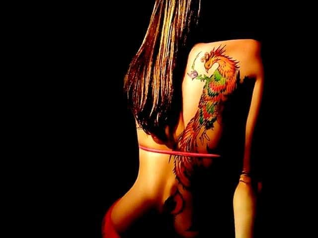 101 gorgeous phoenix tattoo designs to try in 2019 - 640×480