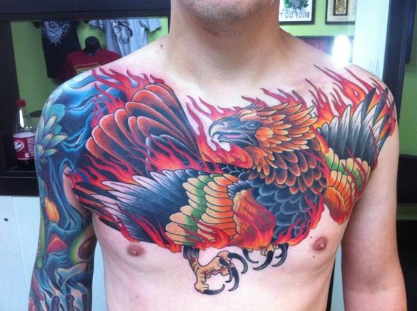 Phoenix tattoo designs39