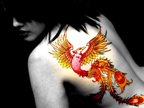 Phoenix tattoo designs43