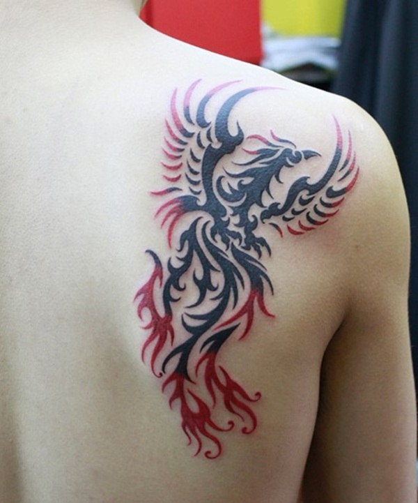 Phoenix tattoo designs55