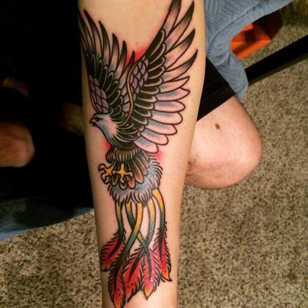 Phoenix tattoo designs64
