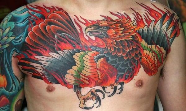 Phoenix tattoo designs68