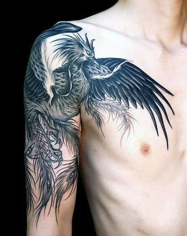 Phoenix tattoo designs72