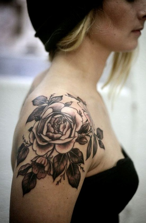 b8e58539c 155+ Amazing Must Have Rose Tattoos (with Meanings)