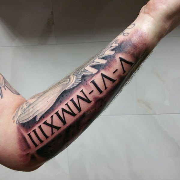 Roman numeral tattoo designs44