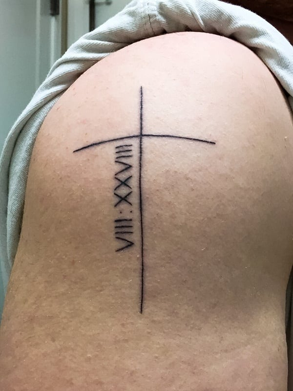 Roman numeral tattoo designs45