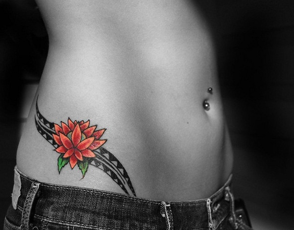 101 sexy hip tattoo designs you wish you had. Black Bedroom Furniture Sets. Home Design Ideas