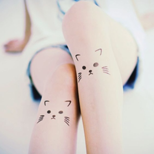 cat tattoo designs for girls2