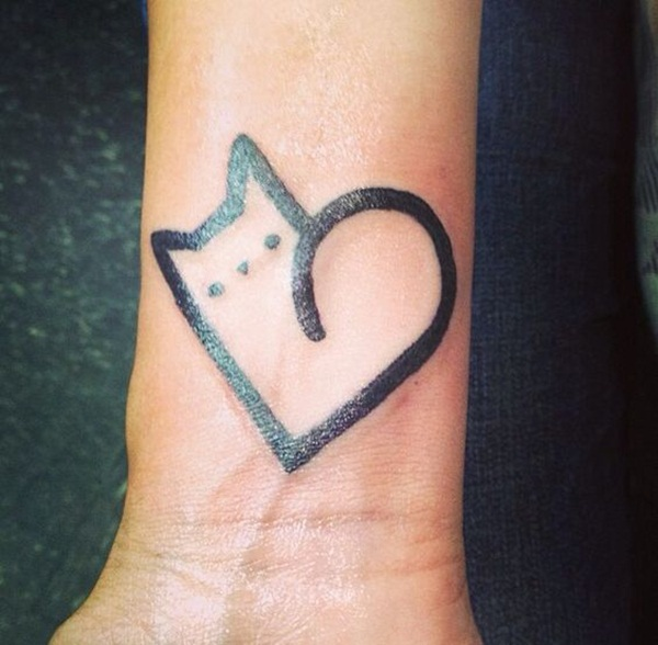 cat tattoo designs for girls23