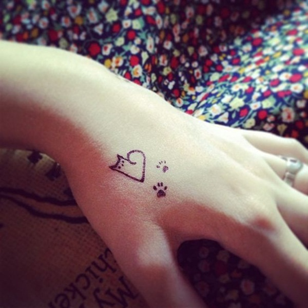 cat tattoo designs for girls24