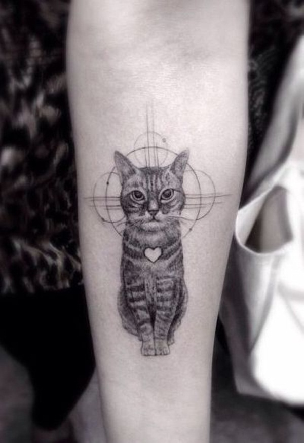 cat tattoo designs for girls28