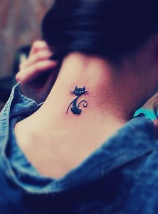cat tattoo designs for girls37