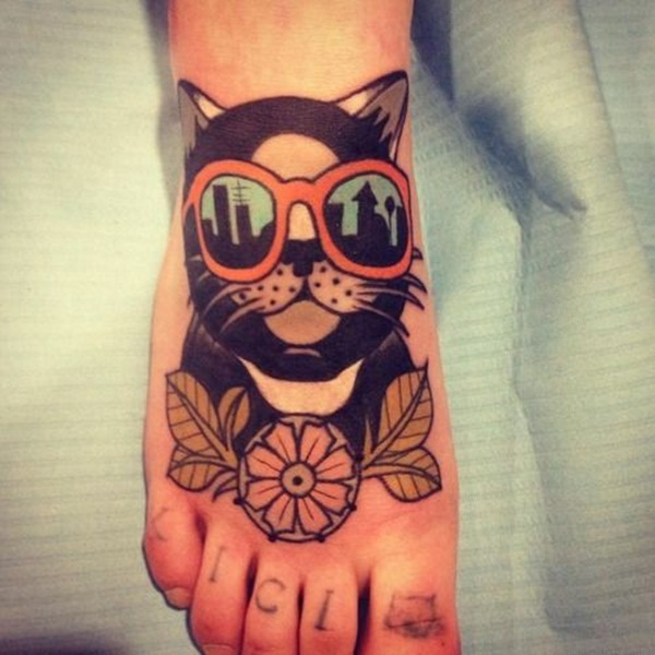 cat tattoo designs for girls48