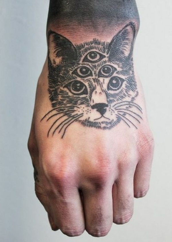 cat tattoo designs for girls49