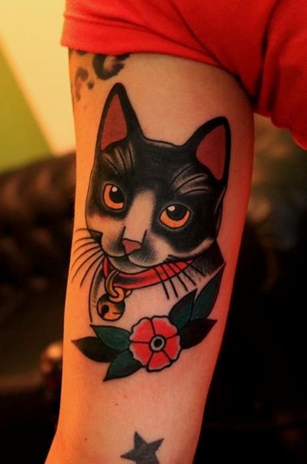 cat tattoo designs for girls50