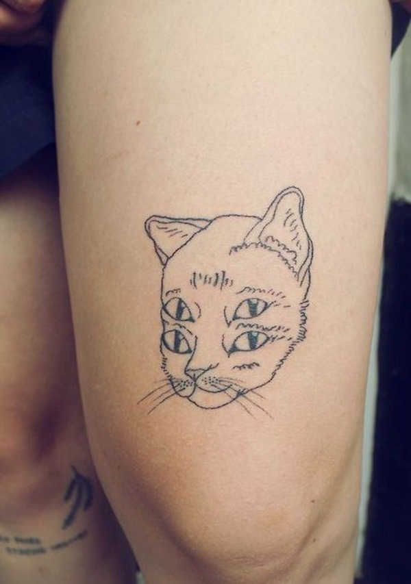 cat tattoo designs for girls52