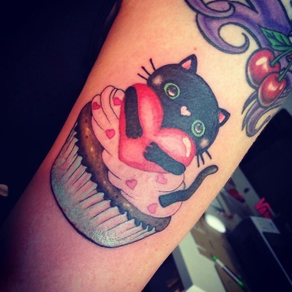 cat tattoo designs for girls67