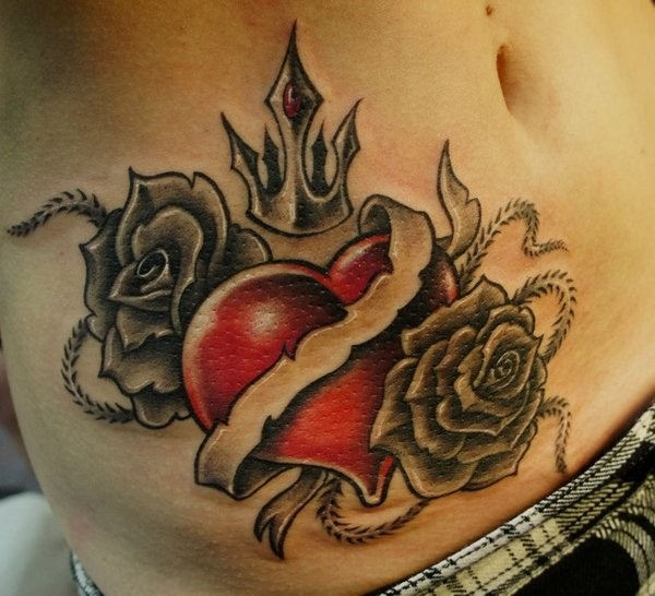 heart tattoo designs 32