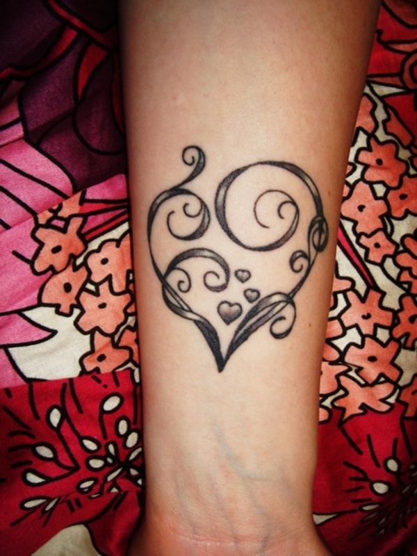 heart tattoo designs 63