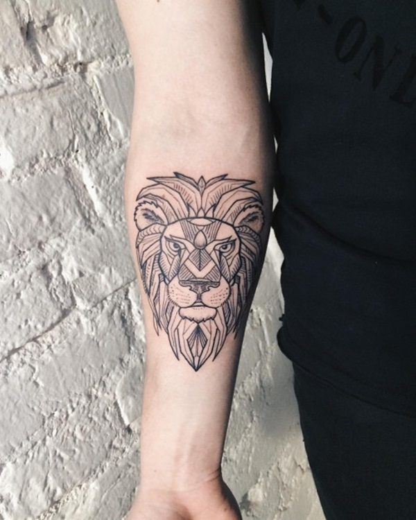 lion tattoo designs for boys and girls14
