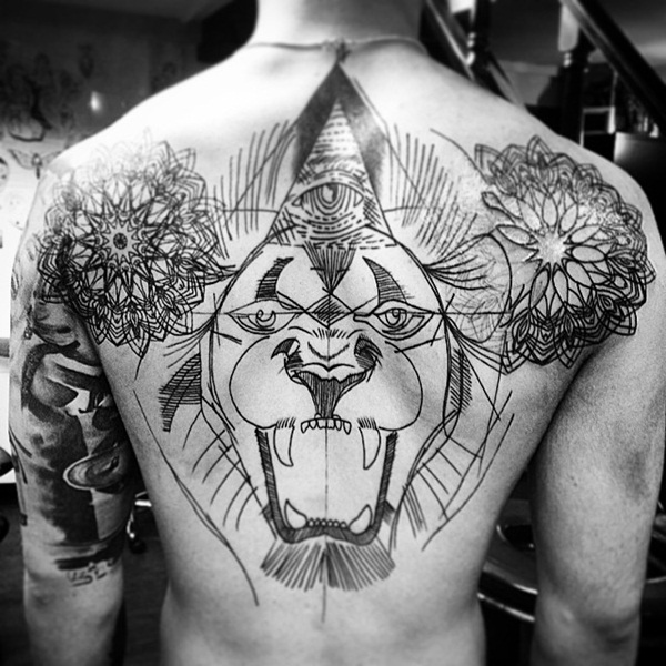 lion tattoo designs for boys and girls19