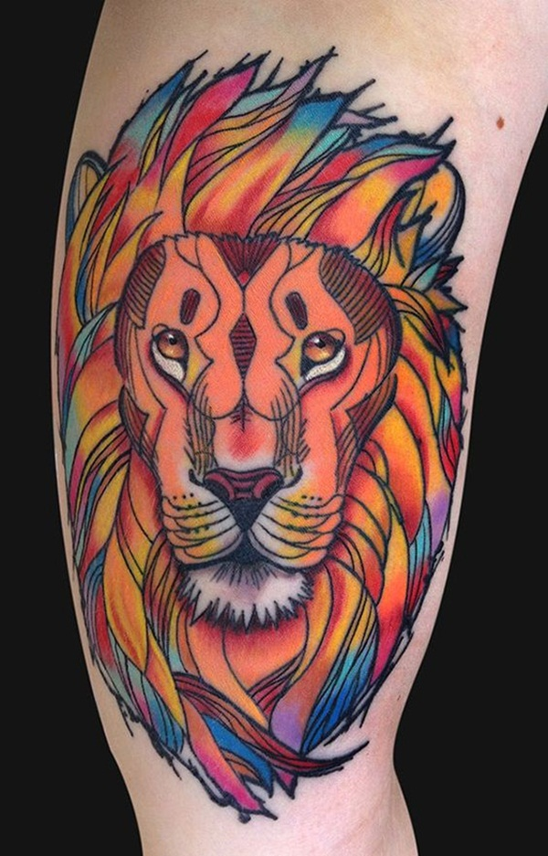 lion tattoo designs for boys and girls2