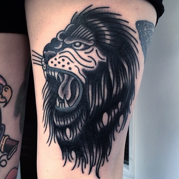 lion tattoo designs for boys and girls25