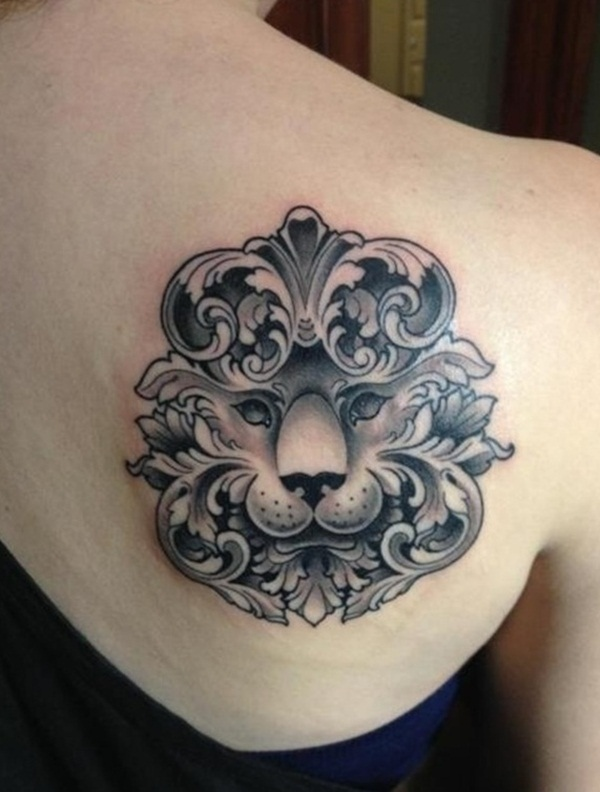 lion tattoo designs for boys and girls34