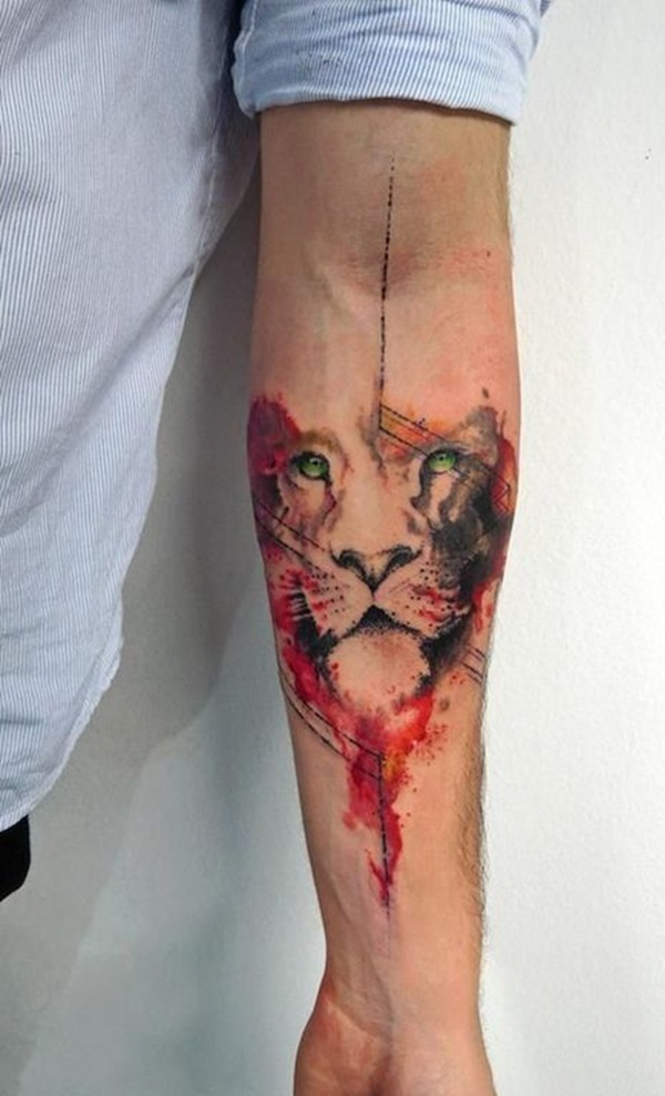 lion tattoo designs for boys and girls4