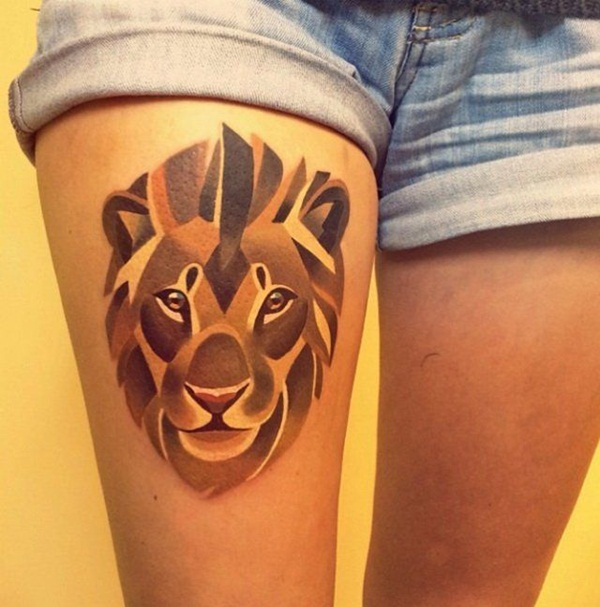 lion tattoo designs for boys and girls44