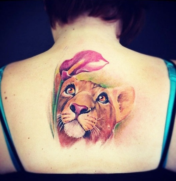 lion tattoo designs for boys and girls56