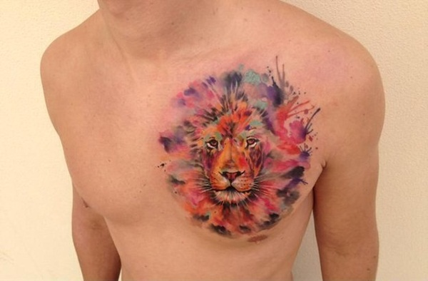 lion tattoo designs for boys and girls64