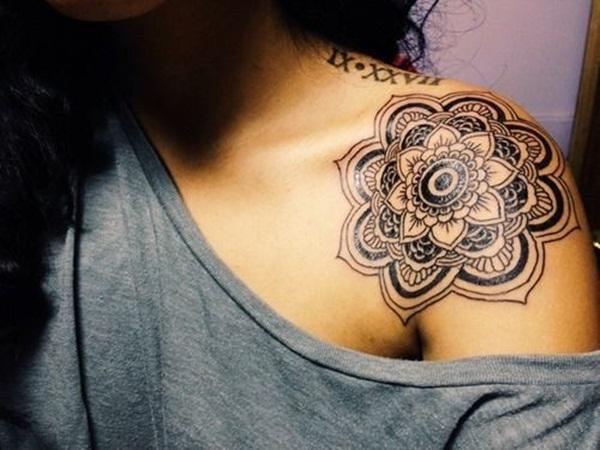 mandala tattoo designs for girls10
