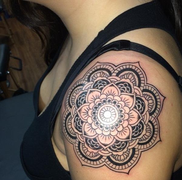 mandala tattoo designs for girls18