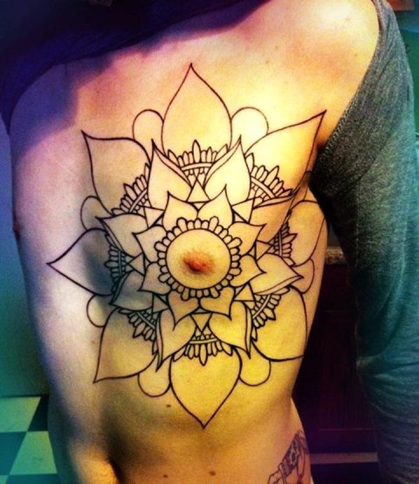 mandala tattoo designs for girls21