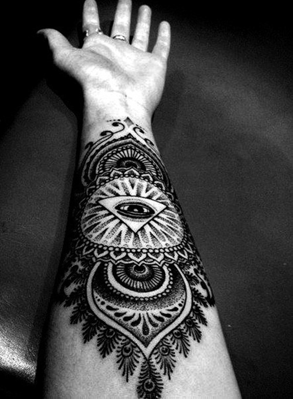 mandala tattoo designs for girls25