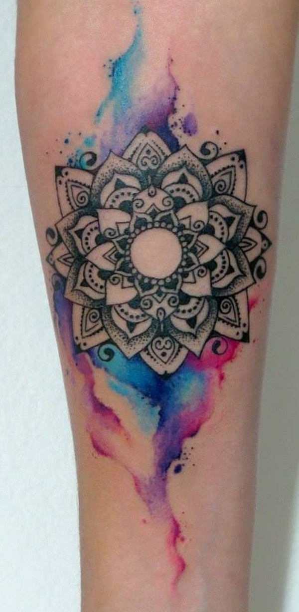 mandala tattoo designs for girls32