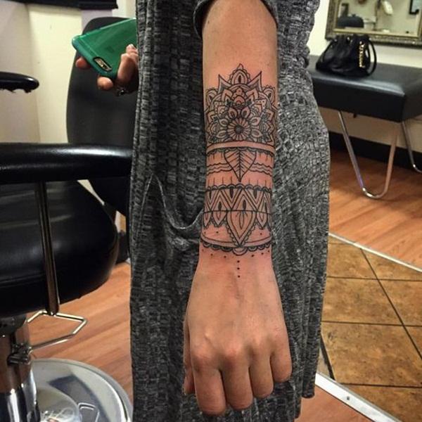 mandala tattoo designs for girls33