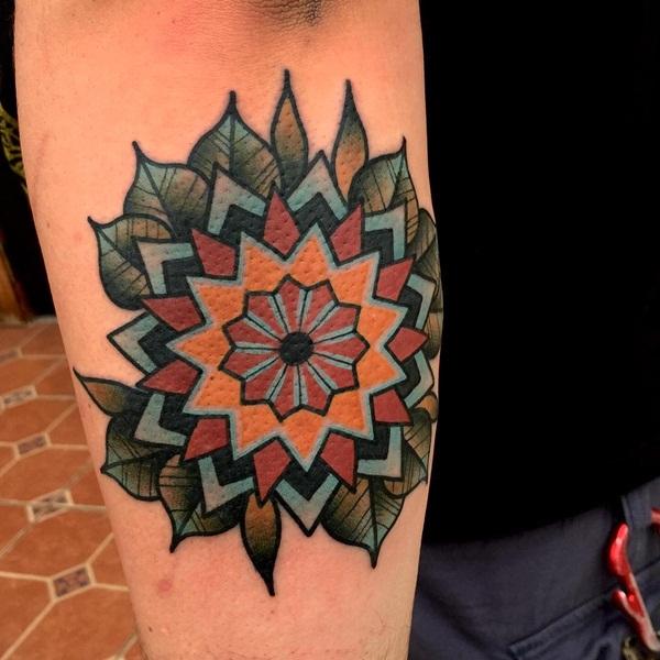 mandala tattoo designs for girls35