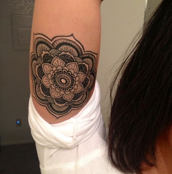 mandala tattoo designs for girls36