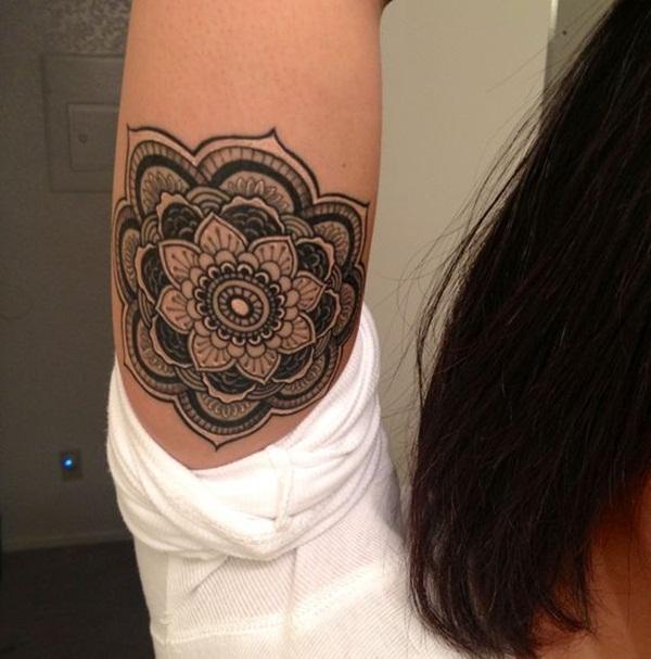 mandala tattoo designs for girls36