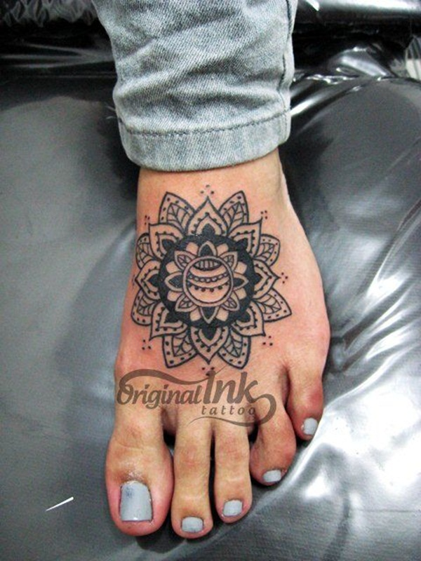 mandala tattoo designs for girls39