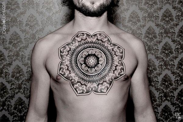 mandala tattoo designs for girls4