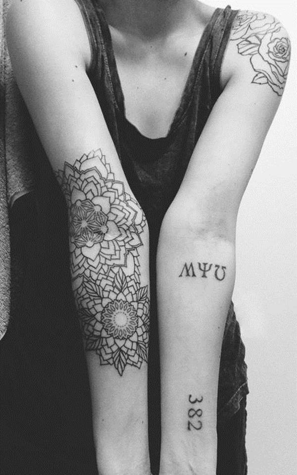 mandala tattoo designs for girls40