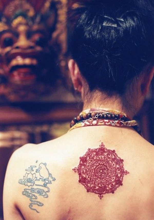 mandala tattoo designs for girls41