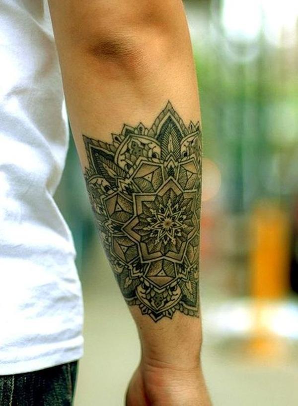 101 mandala tattoo designs for girls to feel alive. Black Bedroom Furniture Sets. Home Design Ideas