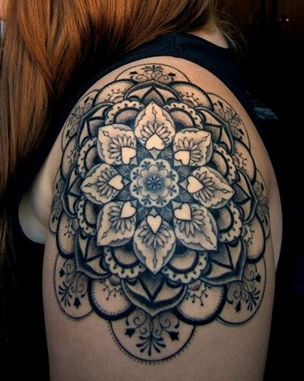 mandala tattoo designs for girls45