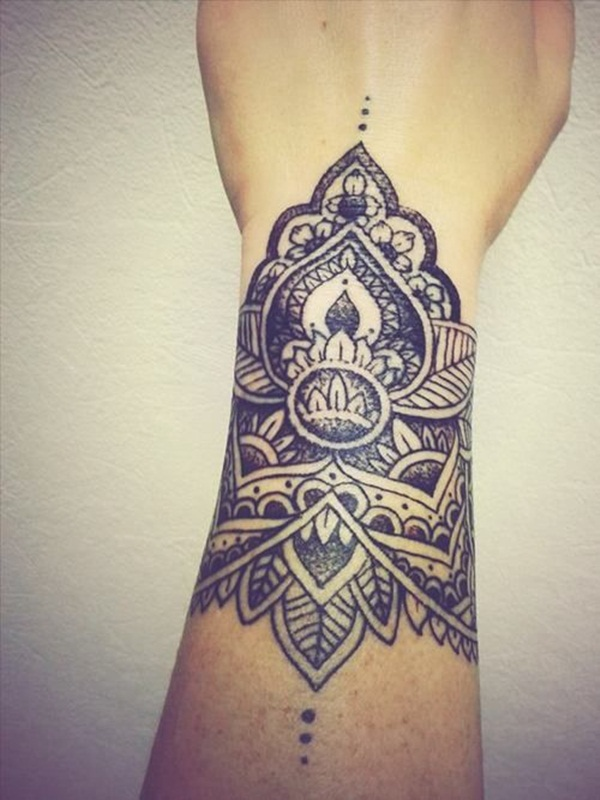 mandala tattoo designs for girls48